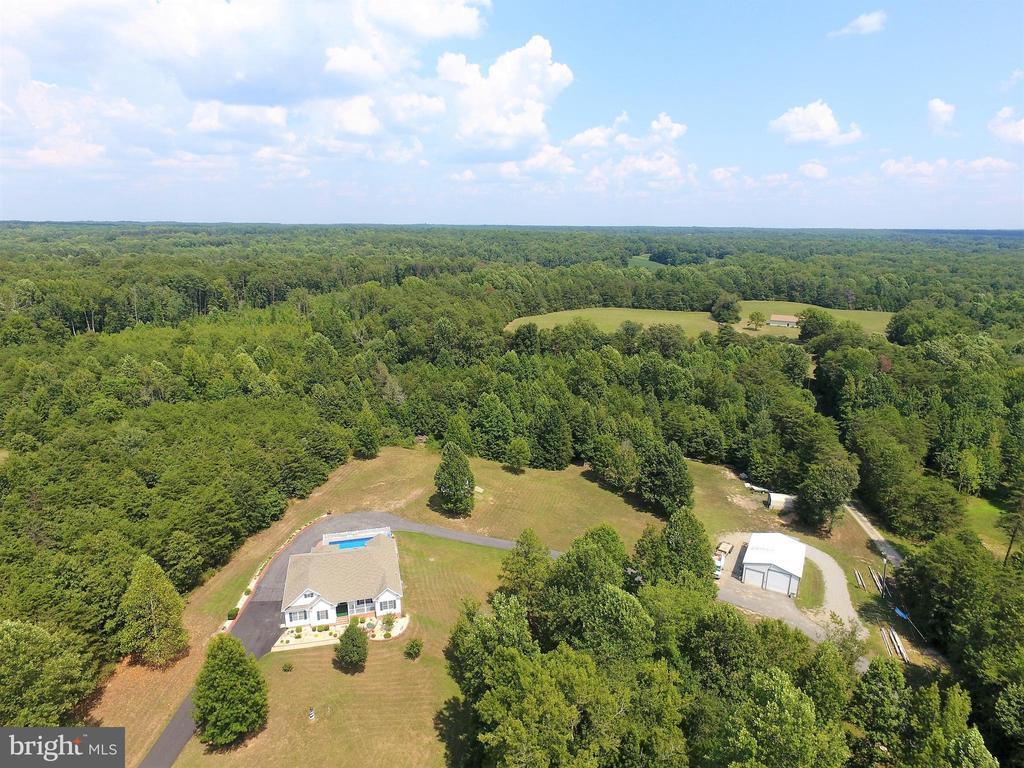 Aerial view - 6421 ROBINSON RD, SPOTSYLVANIA