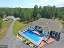 Pool adds entertainment for family fun! - 6421 ROBINSON RD, SPOTSYLVANIA