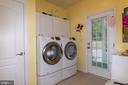 Spacious Laundry Room - 6421 ROBINSON RD, SPOTSYLVANIA
