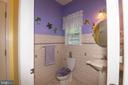 Half Bathroom near Garage Entryway - 6421 ROBINSON RD, SPOTSYLVANIA