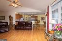 Living room - 6421 ROBINSON RD, SPOTSYLVANIA