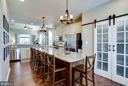GOURMET KITCHEN/BARN DOOR PANTRY - 41676 BRANDENSTEIN DR, ALDIE