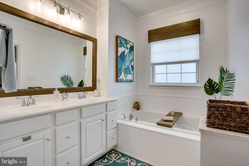 SPA LIKE MASTER BATH - 41676 BRANDENSTEIN DR, ALDIE