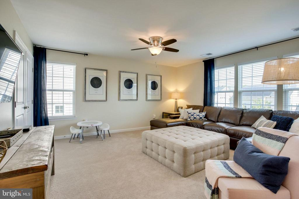 BEDROOM OR UPPER LEVEL FAMILY ROOM - 41676 BRANDENSTEIN DR, ALDIE