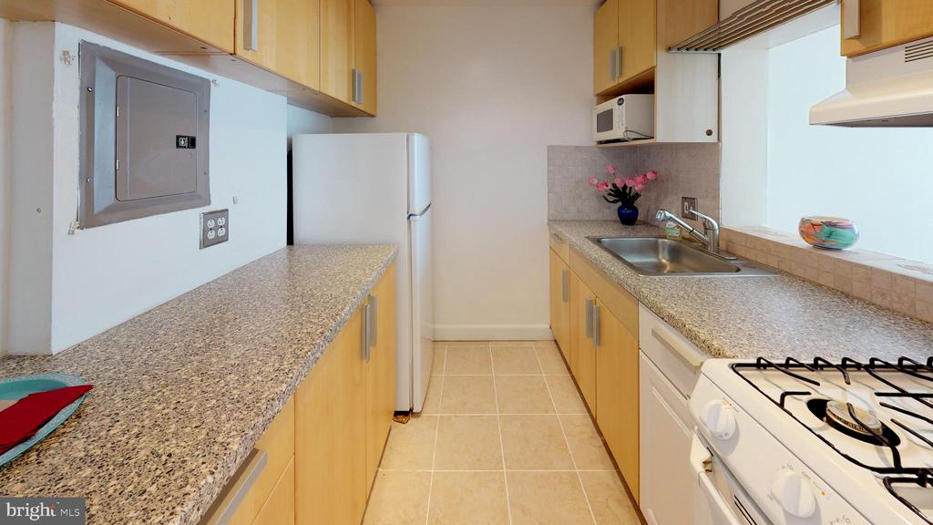 Updated kitchen boasts gas range - 1121 ARLINGTON BLVD #509, ARLINGTON