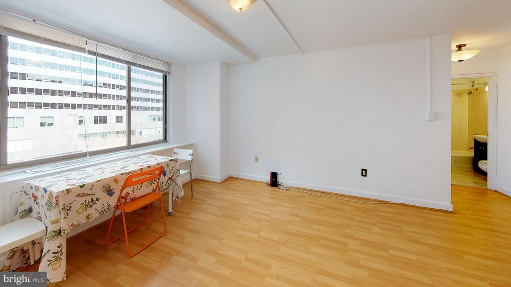 Large living/dining room space - 1121 ARLINGTON BLVD #509, ARLINGTON