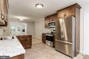 Gourmet Kitchen w/Induction Stove&Convection  Oven - 8015 DUSTIN DR, FREDERICK