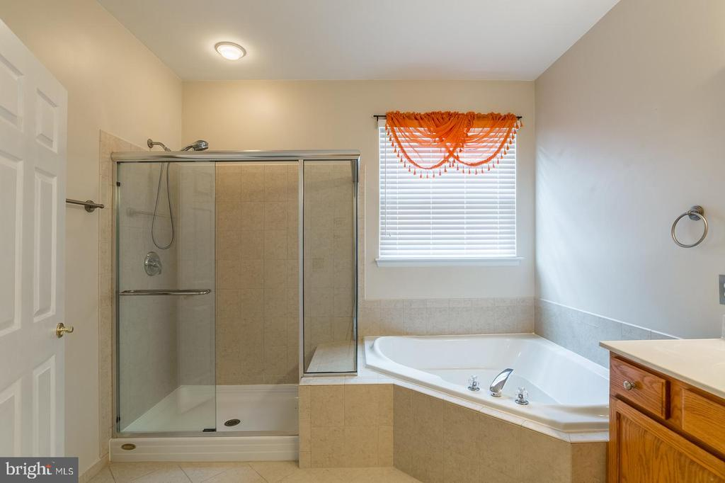 Master Bath with Soaking Tub & Separate Shower - 17416 CELEBRATION WAY, DUMFRIES