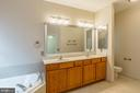 Master Bath Double Vanity - 17416 CELEBRATION WAY, DUMFRIES