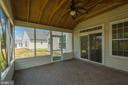 Screened Porch Showing Door to Family Room - 17416 CELEBRATION WAY, DUMFRIES