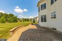 Beautiful paver patio - 6902 SOUTHRIDGE PL, MIDDLETOWN