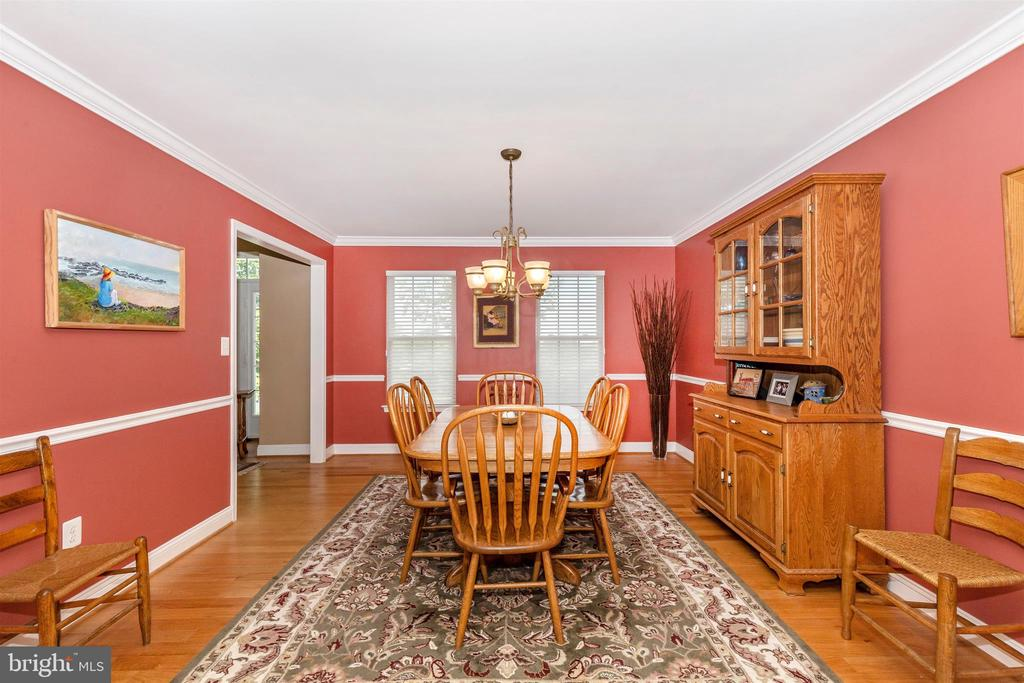 Hardwood floors throughout the first floor - 4126 LARSON LN, MOUNT AIRY