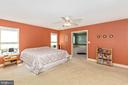 Master Suite - 4126 LARSON LN, MOUNT AIRY