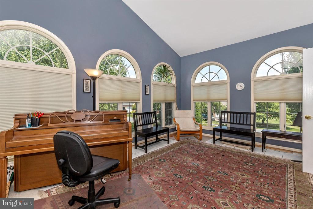 Sun room with gorgeous Anderson windows throughout - 4126 LARSON LN, MOUNT AIRY