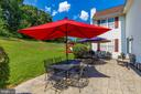 Ample outdoor seating - 4126 LARSON LN, MOUNT AIRY