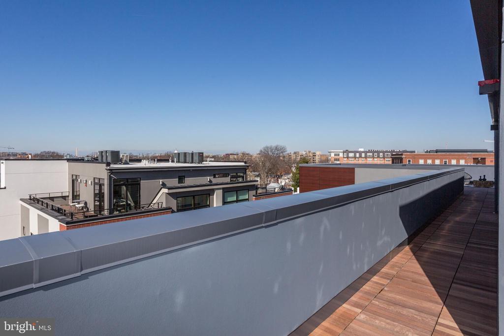 Privacy wall with amazing views - 1345 K ST SE #PH1, WASHINGTON