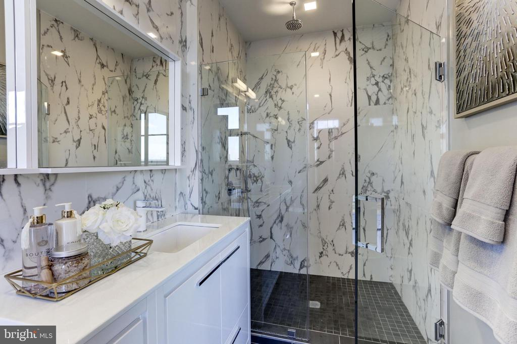 Frameless Shower door - 1345 K ST SE #PH1, WASHINGTON