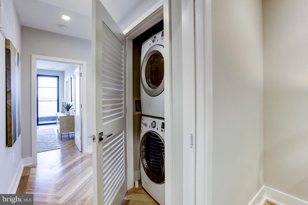 Samsung Front loading Washer + Dryer - 1345 K ST SE #PH1, WASHINGTON