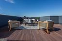 Private outdoor space - 1345 K ST SE #PH1, WASHINGTON