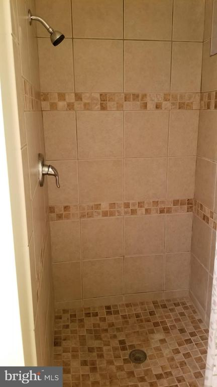 basement shower - 8995 PARLIAMENT DR, BURKE