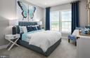 Secondary Bedroom - Illustrative purposes - 12852 CLOVERLEAF DR, GERMANTOWN
