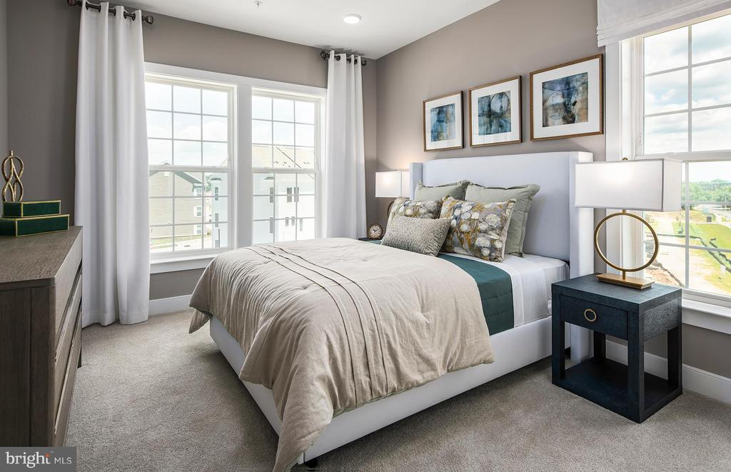 Owner's Bedroom - Illustrative purposes - 12852 CLOVERLEAF DR, GERMANTOWN