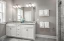 Owner's Bathroom - Illustrative purposes - 12852 CLOVERLEAF DR, GERMANTOWN