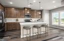 Kitchen - Illustrative purposes - 12852 CLOVERLEAF DR, GERMANTOWN