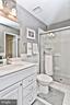 Updated Private Master Bathroom - 10011 DOWNEYS WOOD CT, BURKE