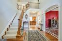 Welcoming Open Foyer w/high Ceilings. - 56 KIRBY LN, STAFFORD