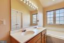 Master Bedroom Dual Vanities - 46705 CAVENDISH SQ, STERLING