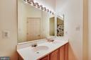 Upstairs Hall Bathroom With Dual Vanity - 46705 CAVENDISH SQ, STERLING