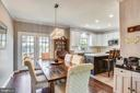 Dining Room Off From Kitchen - 46705 CAVENDISH SQ, STERLING