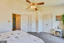 Master Bedroom With Ceiling Fan & Lights - 46705 CAVENDISH SQ, STERLING