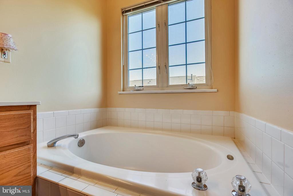 Master Bathroom Separate Soaking Tub - 46705 CAVENDISH SQ, STERLING