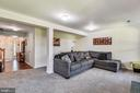 Lower Level Recreation Room With New Carpet - 46705 CAVENDISH SQ, STERLING