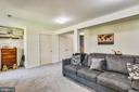 Lower Level Recreation Room With Outside Access - 46705 CAVENDISH SQ, STERLING