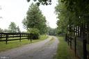 Entrance to farm - 36180 TURKEY ROOST RD, MIDDLEBURG