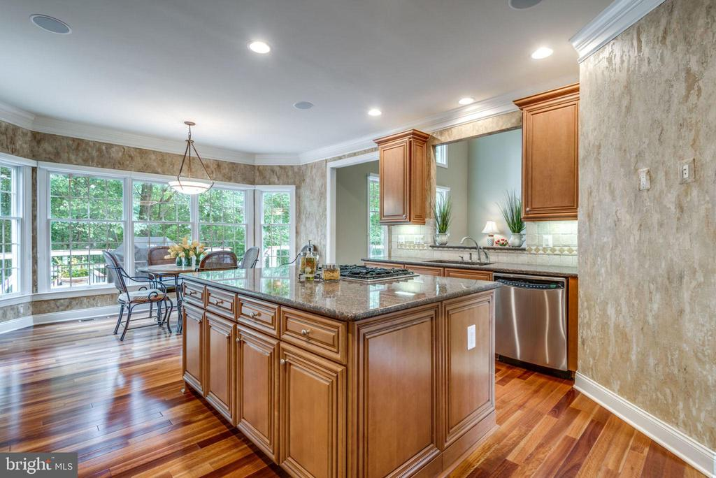 Kitchen - 20132 BANDON DUNES CT, ASHBURN
