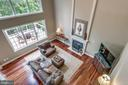 Looking from upper landing to family room - 20132 BANDON DUNES CT, ASHBURN