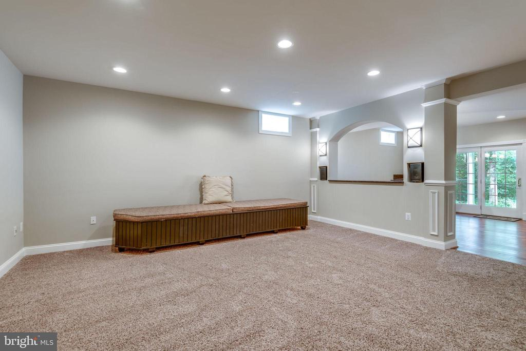 Lower level recreation room - 20132 BANDON DUNES CT, ASHBURN