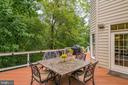 Deck backs to wooded area - 20132 BANDON DUNES CT, ASHBURN