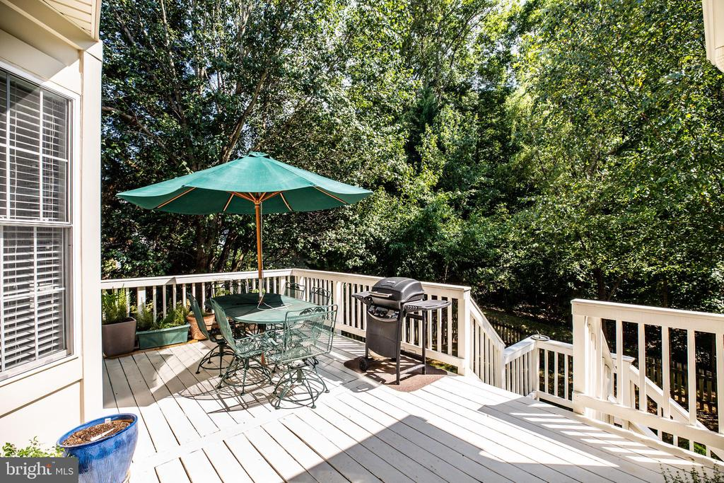 A perfect spot for morning coffee for sun lovers. - 56 KIRBY LN, STAFFORD