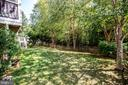 Park-like setting in your private backyard. - 56 KIRBY LN, STAFFORD