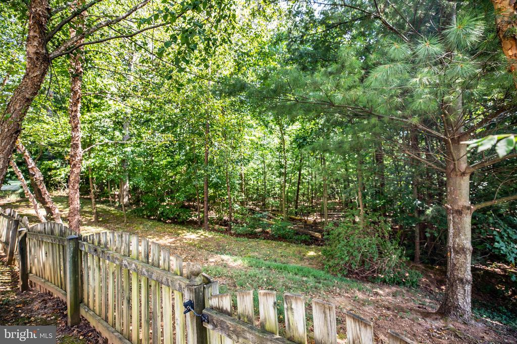 Fully fenced & backs to Trees! - 56 KIRBY LN, STAFFORD