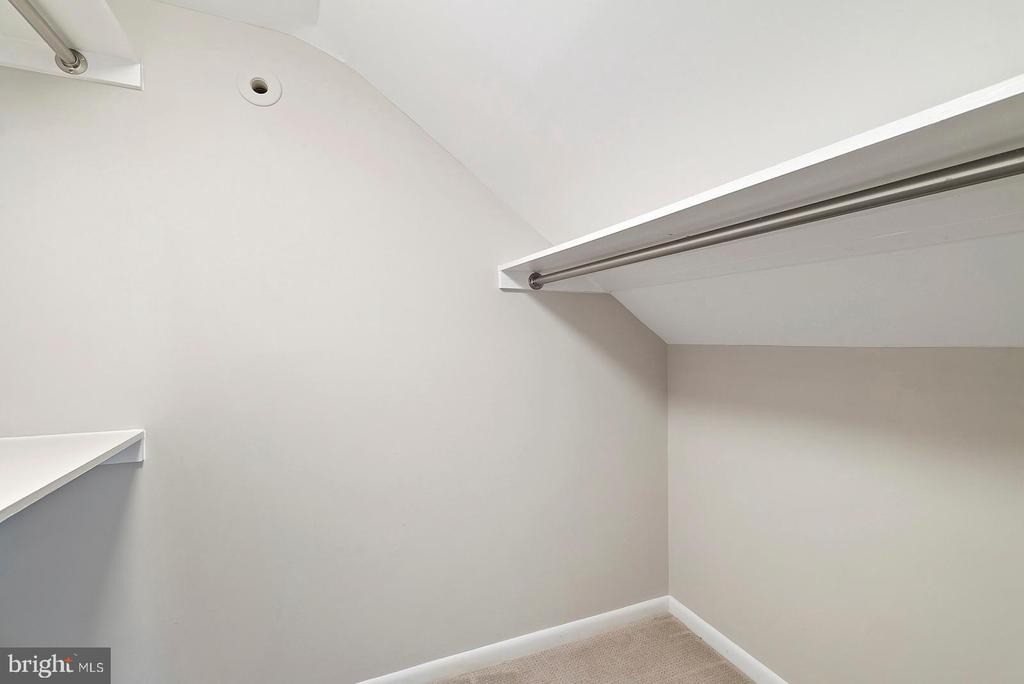 Upper Level One of Two Walk in Closets - 221 N KING ST, LEESBURG