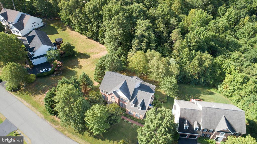 Birds eye view of the Lane. - 56 KIRBY LN, STAFFORD