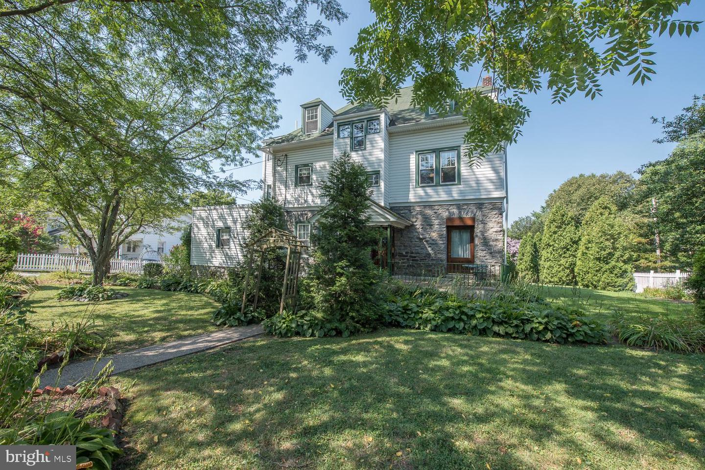 Triplex for Sale at Narberth, Pennsylvania 19072 United States