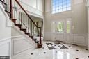 Foyer Features Marble Flooring - 43397 BALLANTINE PL, ASHBURN