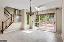 Breakfast Room w/ Greenhouse Addition - 43397 BALLANTINE PL, ASHBURN